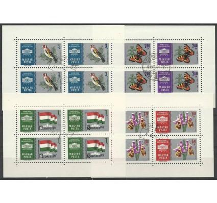 Znaczek Węgry 1961 Mi ark 1765-1768 Stemplowane