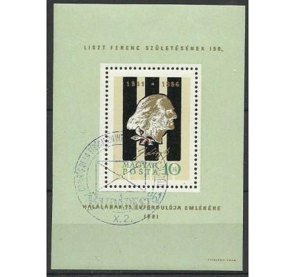 Znaczek Węgry 1961 Mi bl 32 Stemplowane