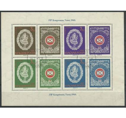 Znaczek Węgry 1960 Mi bl 31 Stemplowane