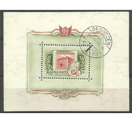 Znaczek Węgry 1955 Mi bl 25 Stemplowane