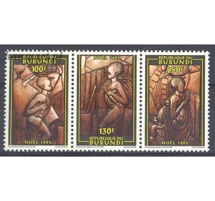 Burundi 1996 Mi 1819-1821 Czyste **