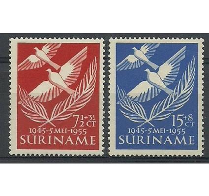 Znaczek Surinam 1955 Mi 352-353 Czyste **