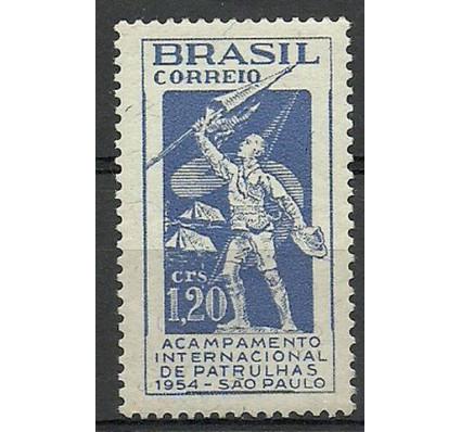 Znaczek Brazylia 1954 Mi 843 Czyste **