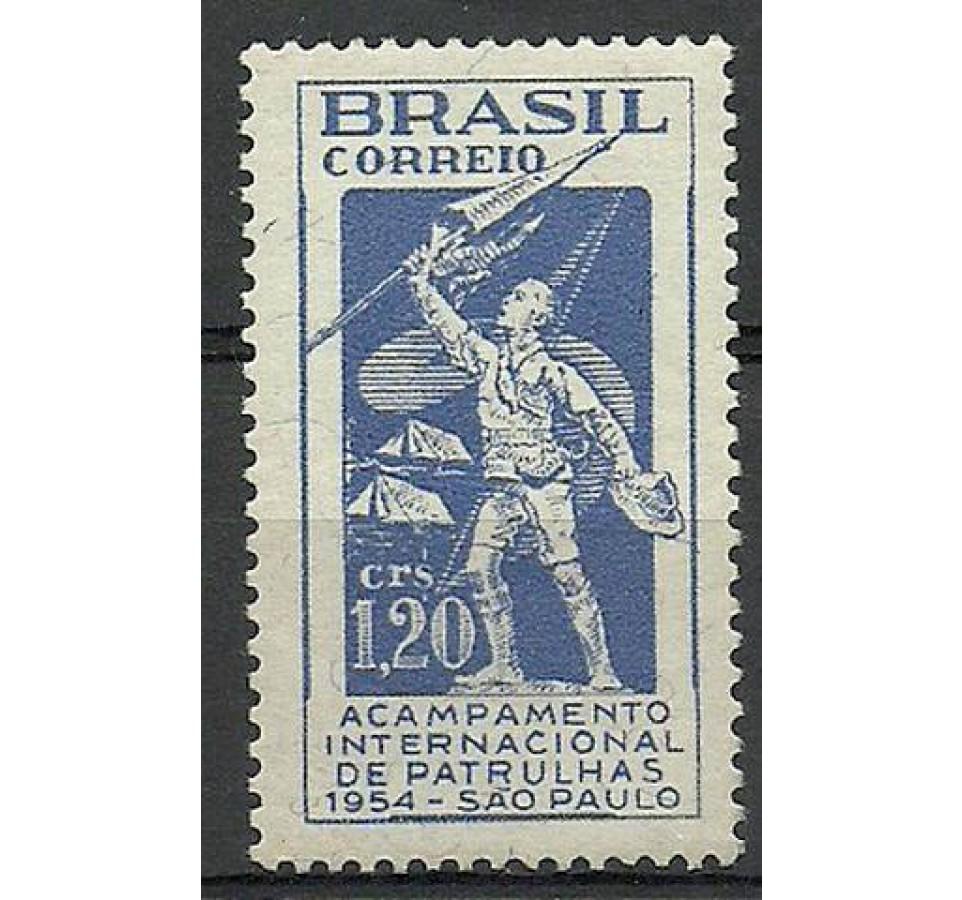 Brazylia 1954 Mi 843 Czyste **