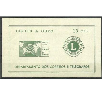 Znaczek Brazylia 1967 Mi bl 19 Czyste **