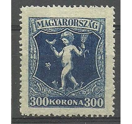 Znaczek Węgry 1924 Mi 380 Z podlepką *