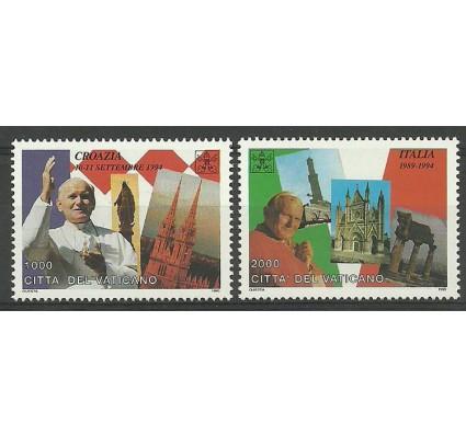 Znaczek Watykan 1995 Mi 1161-1162 Czyste **