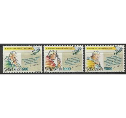Znaczek Watykan 1993 Mi 1101-1103 Czyste **