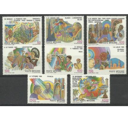 Znaczek Watykan 1987 Mi 926-933 Czyste **
