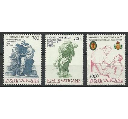 Znaczek Watykan 1986 Mi 894-896 Czyste **