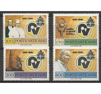 Znaczek Watykan 1981 Mi 779-782 Czyste **