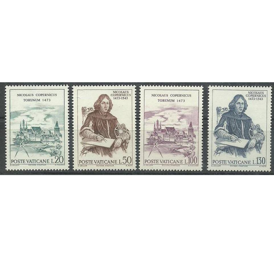 Watykan 1973 Mi 621-624 Czyste **