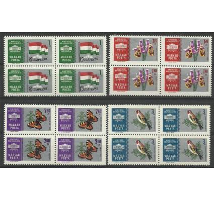Znaczek Węgry 1961 Mi 1765-1768 Czyste **