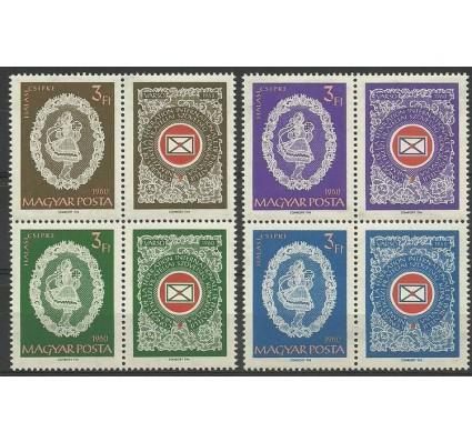 Znaczek Węgry 1960 Mi 1698-1701 Czyste **