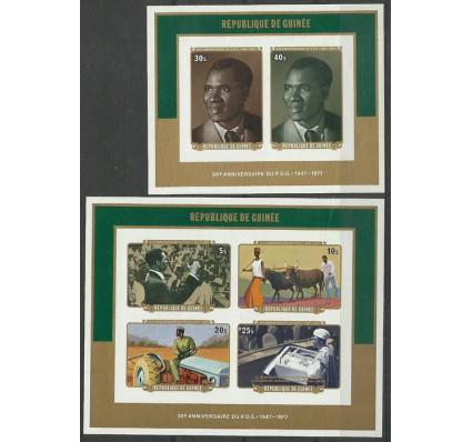 Znaczek Gwinea 1977 Mi bl 49-50B Czyste **