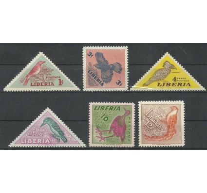 Znaczek Liberia 1953 Mi 450-455 Czyste **