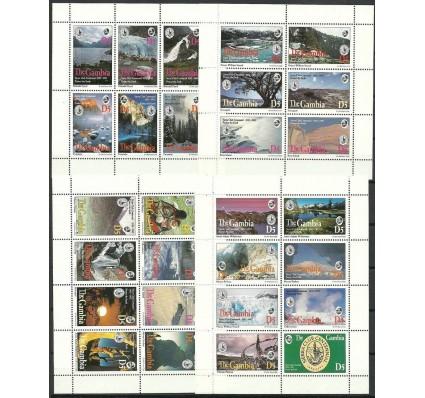 Znaczek Gambia 1994 Mi ark 1844-1865+A-F1865 Czyste **