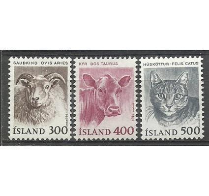 Znaczek Islandia 1982 Mi 580-582 Czyste **