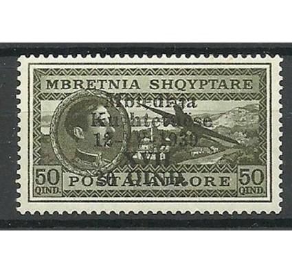 Znaczek Albania 1939 Mi 290 Czyste **