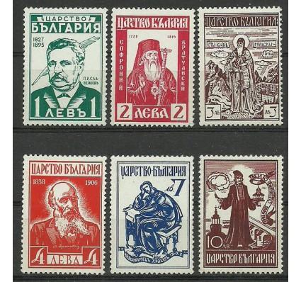 Znaczek Bułgaria 1940 Mi 401-406 Czyste **