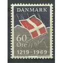 Dania 1969 Mi 481 Czyste **