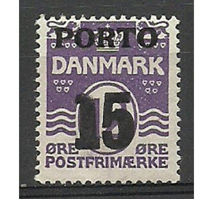 Znaczek Dania 1934 Mi por 32 Czyste **