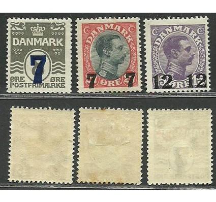 Znaczek Dania 1926 Mi 156-158 Z podlepką *