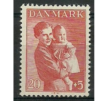 Znaczek Dania 1943 Mi 279 Z podlepką *