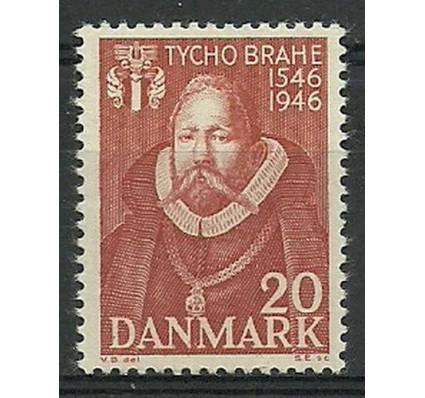Znaczek Dania 1946 Mi 294 Z podlepką *
