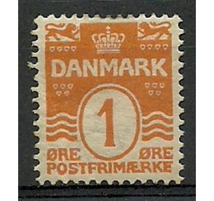 Znaczek Dania 1905 Mi 42A Z podlepką *