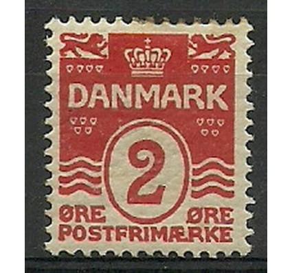 Znaczek Dania 1905 Mi 43A Z podlepką *