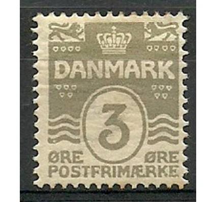 Znaczek Dania 1905 Mi 44A Z podlepką *