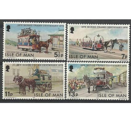 Znaczek Wyspa Man 1976 Mi 78-81 Czyste **