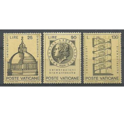 Znaczek Watykan 1972 Mi 596-598 Czyste **