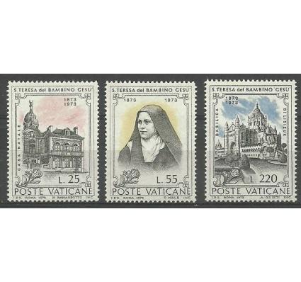 Znaczek Watykan 1973 Mi 618-620 Czyste **