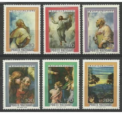 Znaczek Watykan 1976 Mi 683-688 Czyste **