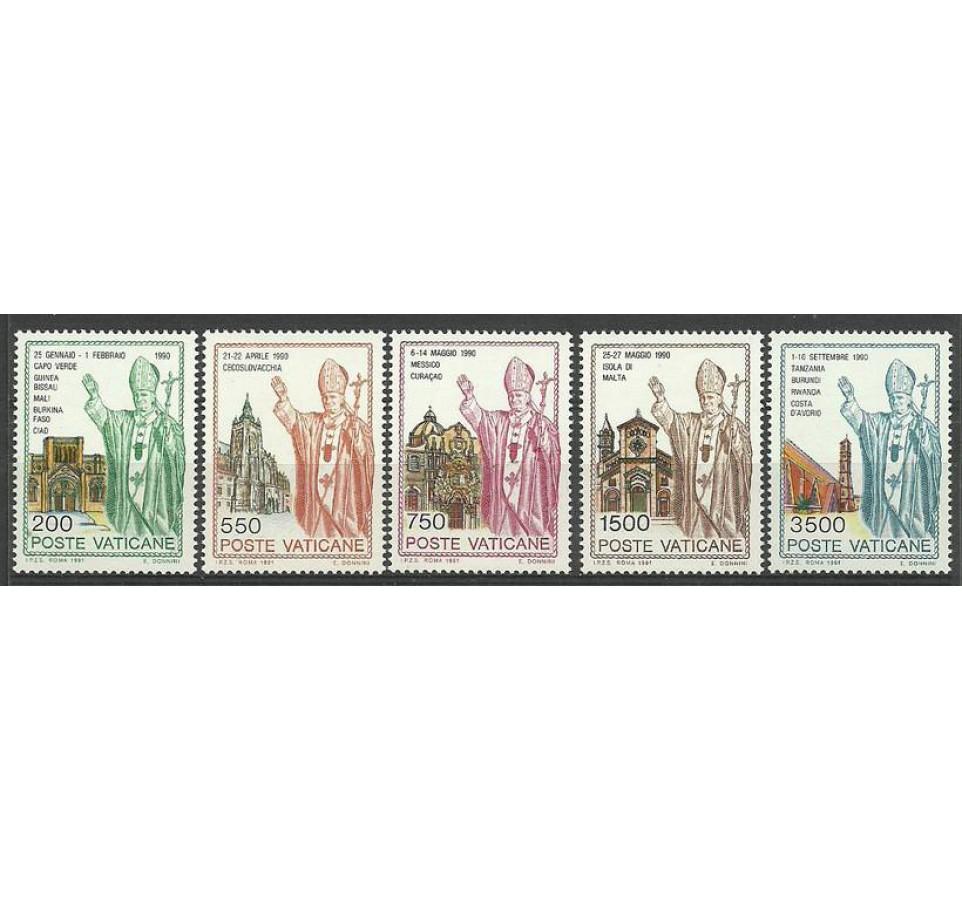 Watykan 1991 Mi 1046-1050 Czyste **