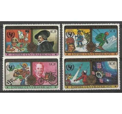Znaczek Republika Środkowoafrykańska 1979 Mi 606-609 Czyste **