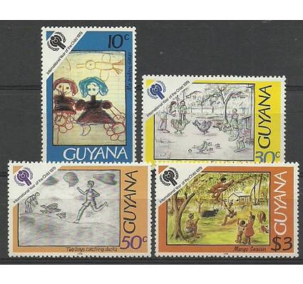 Znaczek Gujana 1979 Mi 565-568 Czyste **
