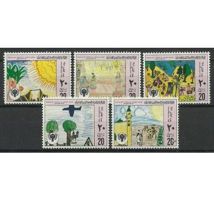 Znaczek Libia 1981 Mi 879-883 Czyste **