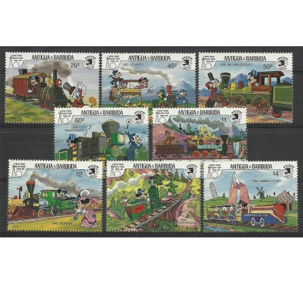 Znaczek Antigua i Barbuda 1989 Mi 1283-1290 Czyste **