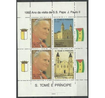 Znaczek Wyspy Św. Tomasza i Książęca 1992 Mi bl 272 Czyste **