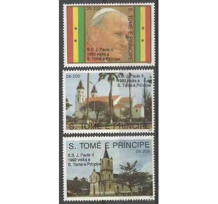 Znaczek Wyspy Św. Tomasza i Książęca 1992 Mi 1310-1312 Czyste **