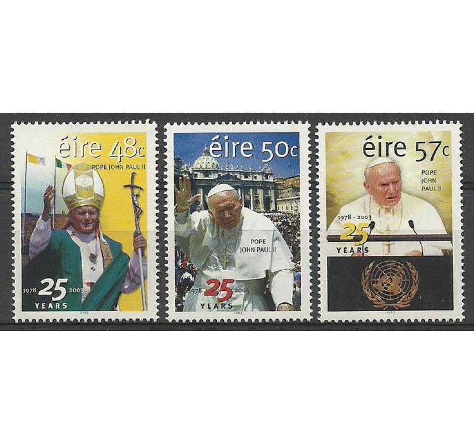 Irlandia 2003 Mi 1547-1549 Czyste **