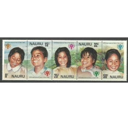 Znaczek Nauru 1979 Mi 198-202 Czyste **
