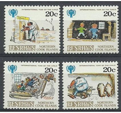 Znaczek Penrhyn 1979 Mi 136-139 Czyste **