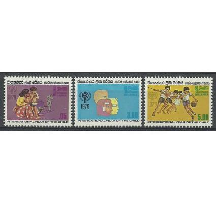 Znaczek Sri Lanka 1979 Mi 501-503 Czyste **