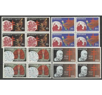 Znaczek Rwanda 1982 Mi 1187-1190 Czyste **