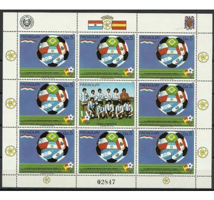 Znaczek Paragwaj 1982 Mi ark 3534 Czyste **
