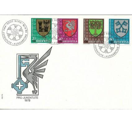 Znaczek Szwajcaria 1978 Mi 1142-1145 FDC